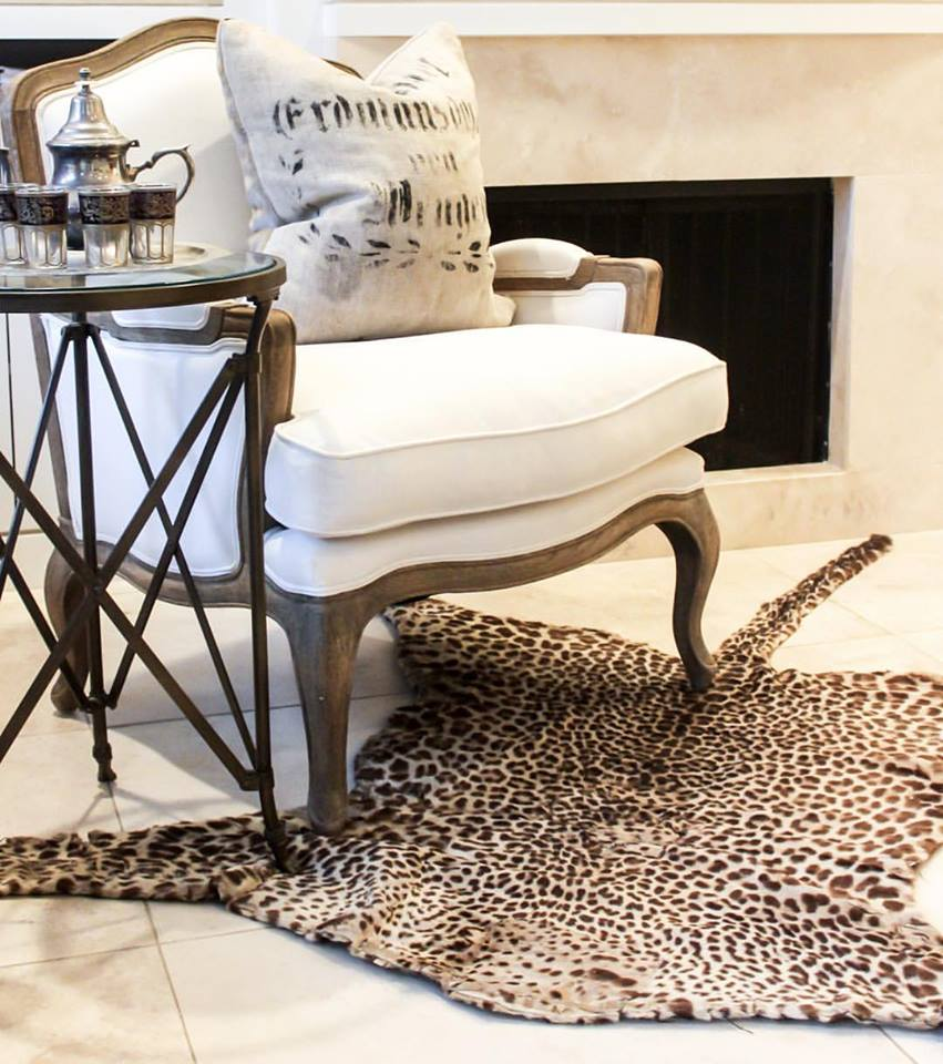 leopard rugs design in dubai by officecarpets.ae