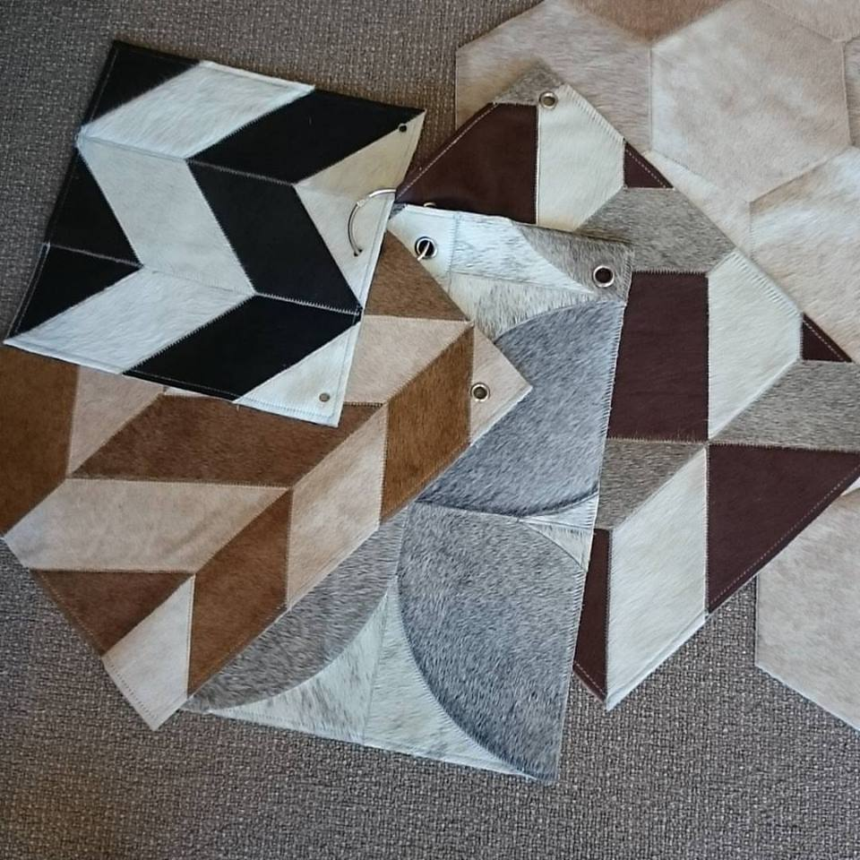 patchwork cow rugs design in dubai by officecarpets.ae