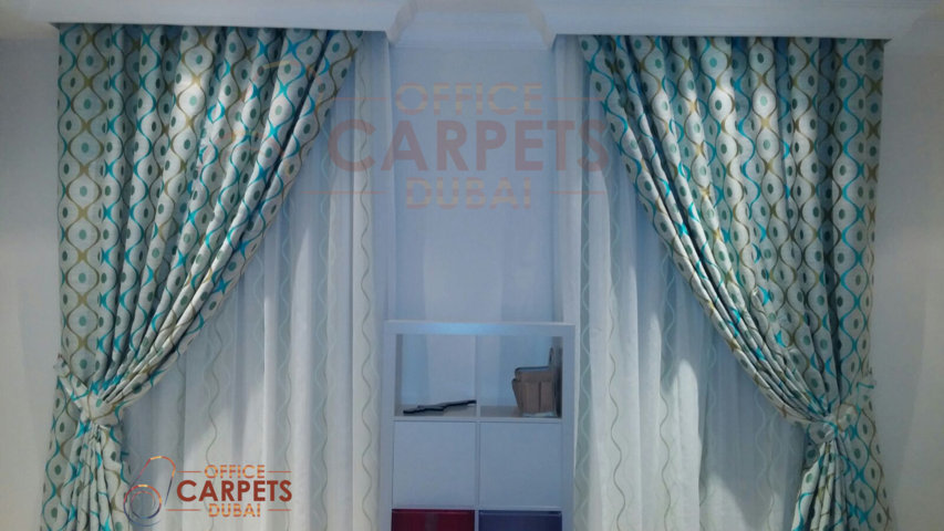 silk curtains with sheer in dubai by office curtains dubai top 10 curtains design for window