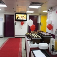 RED EVENTS CARPETS WELCOME CARPET FOR HOTEL IN DUBAI