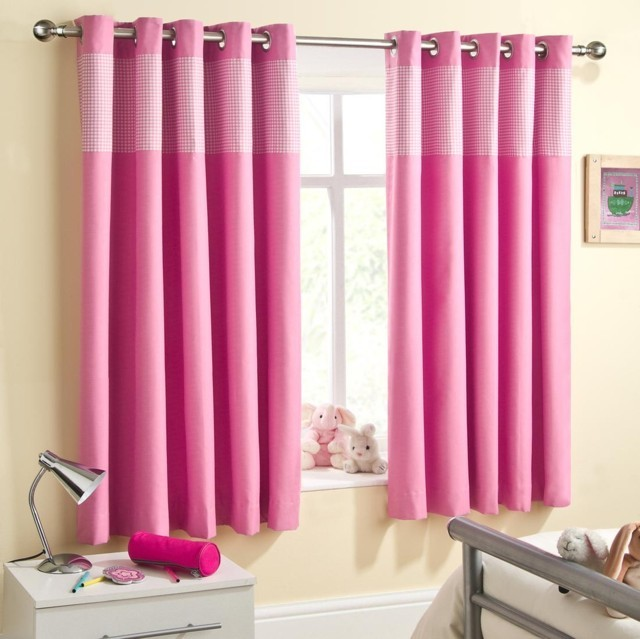 Sweetheart Blackout Pink Black Out Curtains By Officecarpets Ae
