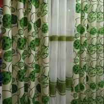cotton curtains design in dubai for your bedroom