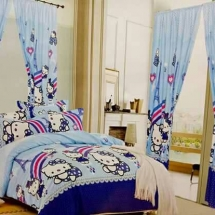 cotton curtains design in dubai with bed sheet for your bedroom a
