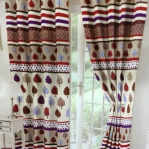 cotton curtains design in dubai with bed sheet for your bedroom ddew