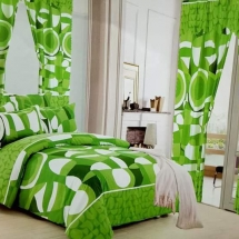 cotton curtains design in dubai with bed sheet for your bedroom ddw