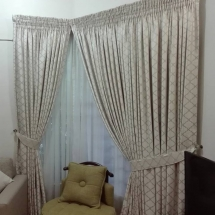 cotton curtains design in dubai with bed sheet for your bedroom kk