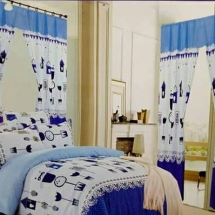 cotton curtains design in dubai with bed sheet for your bedroomwwwq