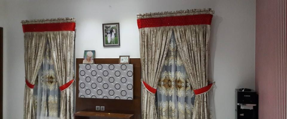 linen curtains in dubai