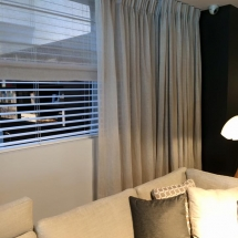 LINEN CURTAINS and blinds for living room bedroom IN DUBAI