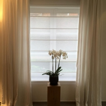 LINEN CURTAINS for sheer curtain living room bedroom with flower IN DUBAI